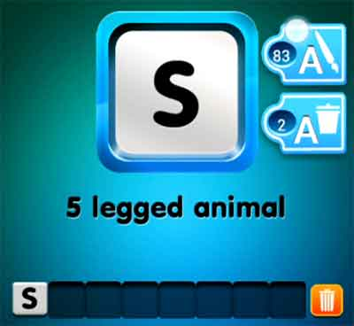 one-clue-5-legged-animal
