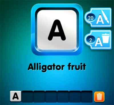 one-clue-alligator-fruit