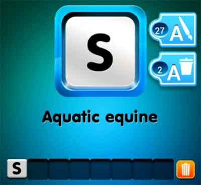 one-clue-aquatic-equine
