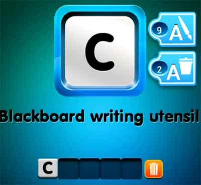 one-clue-blackboard-writing-utensil