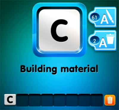one-clue-building-material