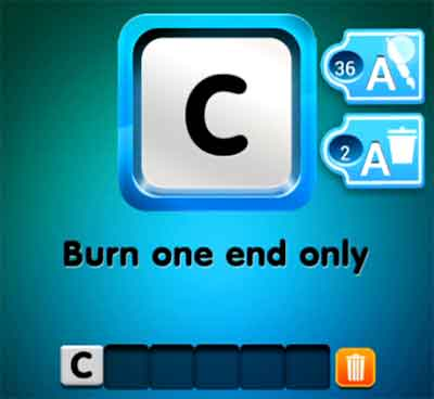 one-clue-burn-one-end-only
