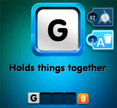 one-clue-hold-things-together