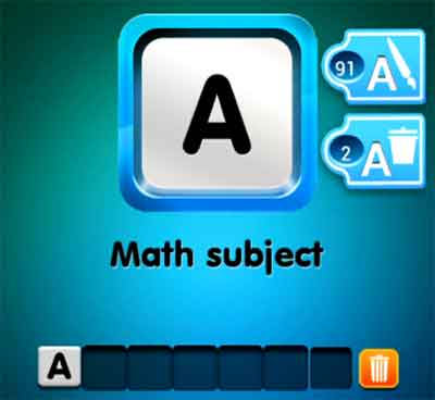 one-clue-math-subject