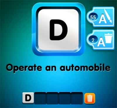 one-clue-operate-an-automobile