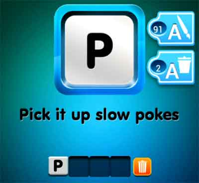 pick one word game