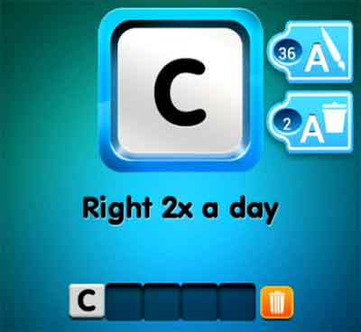 one-clue-right-2x-a-day