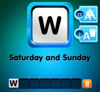 one-clue-saturday-and-sunday