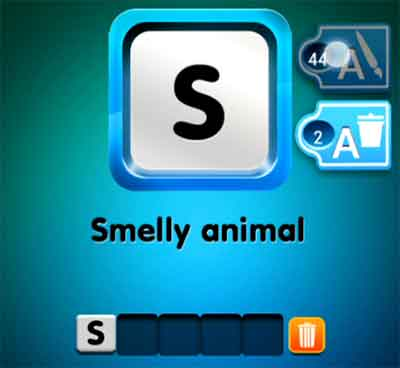 one-clue-smelly-animal