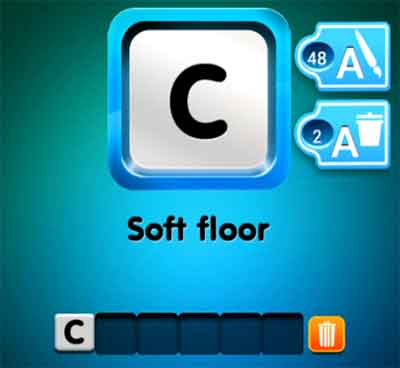 One Clue Soft Floor 4 Pics 1 Word Daily Puzzle Answers