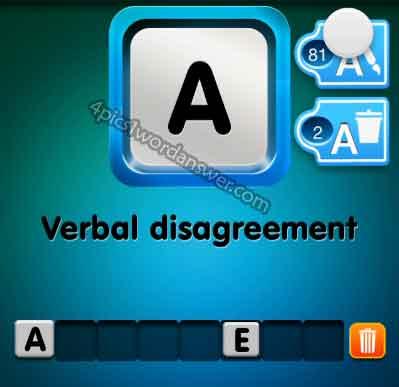 one-clue-verbal-disagreement