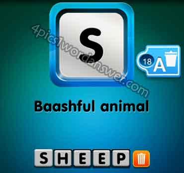 one-clue-baashful-animal