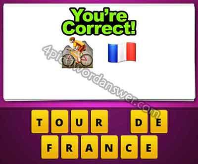 Bike And Flag Emoji and france flag emoji mean