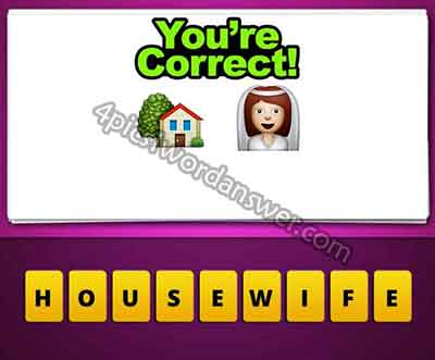 What does the house and bride emoji mean in guess the emoji pop game  Guess The Emoji House And Bride