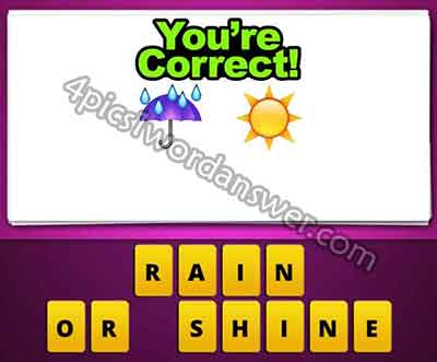 the umbrella rain and sun emoji mean in guess the emoji pop gameGuess The Emoji House And Bride