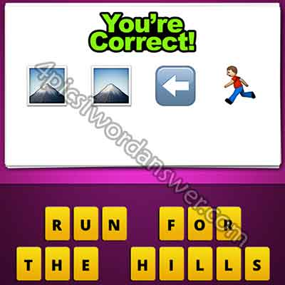 emoji-2-mountains-left-arrow-man-running