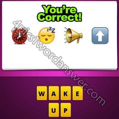 emoji-alarm-clock-sleep-face-loud-speaker-up-arrow