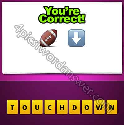 emoji-american-football-and-down-arrow
