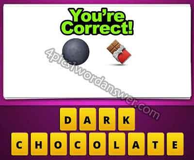 emoji-black-ball-and-chocolate-bar