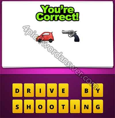 emoji-car-and-gun