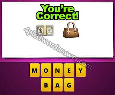 emoji-cash-money-and-purse-bag