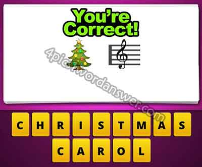 emoji-christmas-tree-and-music-note