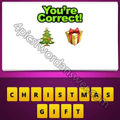emoji-christmas-tree-and-present-gift
