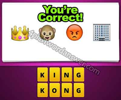 emoji-crown-monkey-angry-face-building