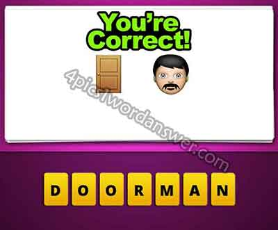 emoji-door-and-mustache-man