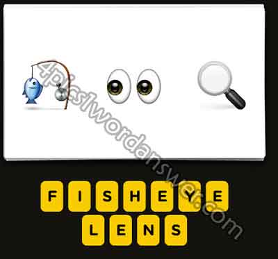 Guess The Emoji Fishing Rod Eyes Magnifying Glass | 4 Pics ...