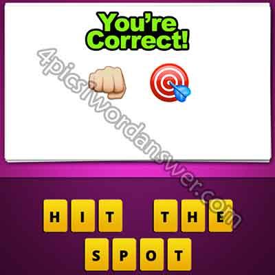 emoji-fist-punch-and-bullseye-target