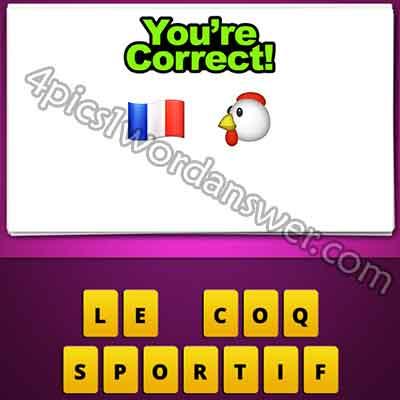 emoji-french-flag-and-chicken