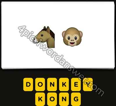 emoji-horse-and-monkey