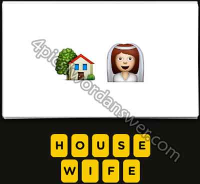 does the house bride woman emoji mean in guess the emoji pop gameGuess The Emoji House And Bride