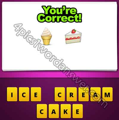 emoji-ice-cream-cone-and-cake