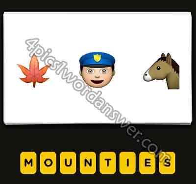 emoji-maple-leaf-cop-horse