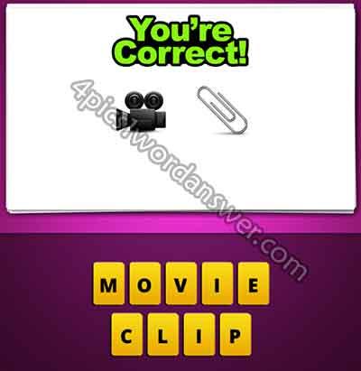emoji-movie-camera-and-paper-clip