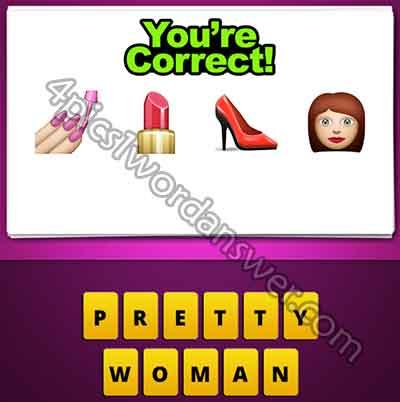 emoji-nail-polish-lipstick-heel-shoe-woman