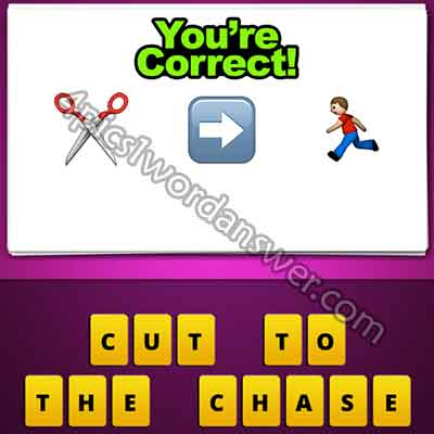 emoji-scissors-right-arrow-man-running