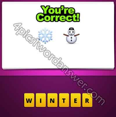 emoji-snowflake-and-snowman