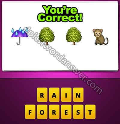 emoji-umbrella-rain-tree-tree-monkey