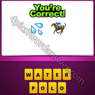 emoji-water-drops-and-horse-racing