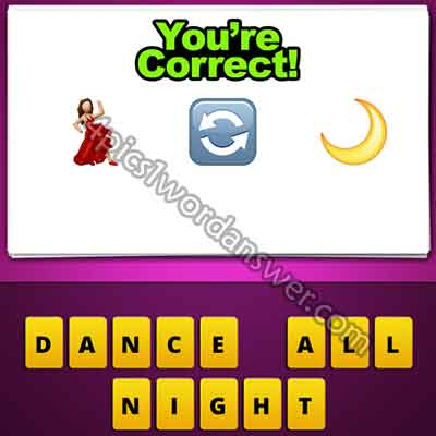 emoji-woman-dancer-swap-arrows-half-moon
