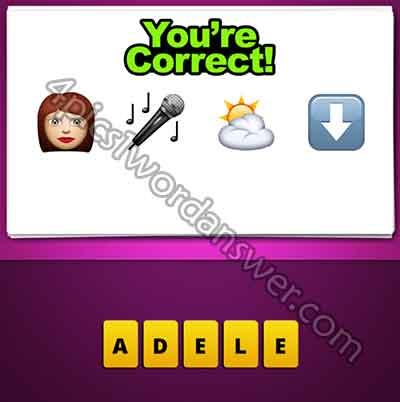 emoji-woman-microphone-sun-cloud-down-arrow