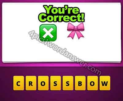X Bow Emoji Guess The Emoji X and ...
