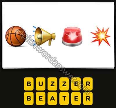 emoji-basketball-loudspeaker-red-siren-light-pop