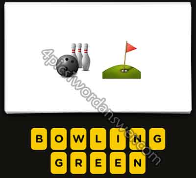 Guess The Emoji Bowling And Golf Hole 4 Pics 1 Word