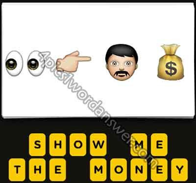 emoji-eyes-finger-pointing-right-man-money-bag
