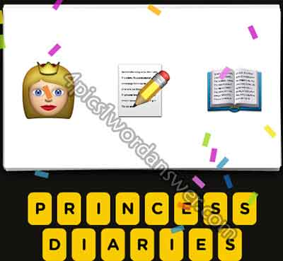 emoji-princess-pencil-note-open-book