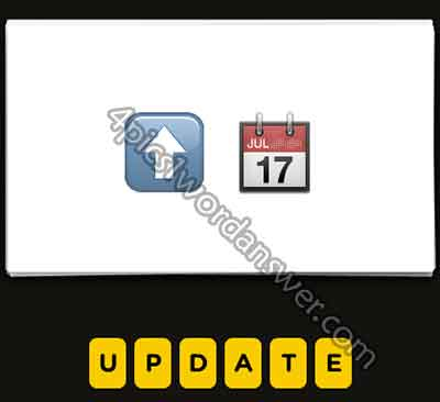 Guess The Emoji Up Arrow Calendar 4 Pics 1 Word Daily